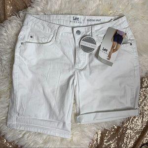 Lee Shorts - [Lee] Denim Mid Rise Jean Shorts NWT